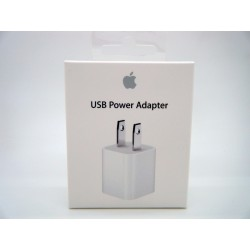 Cargador Original Pared Usb Cubo Iphone 6 5s 4s Ipod Appl