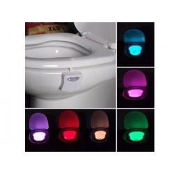 Lampara Led Baño Sensor De Movimiento Colores