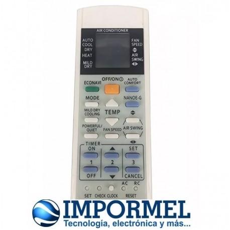 Control Remoto A/c Panasonic A75c3300 A75c3208 A75c3706 A75c