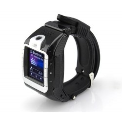 Reloj Celular Tactil Negro Mp3/4 Camara Bluetooth Video