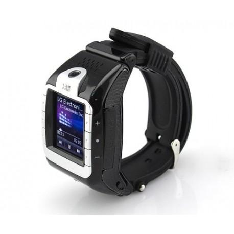 Reloj Celular Tactil Negro Mp3/4 Camara Bluetooth Video