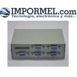 Switch 4 Puertos Vga Proyector Monitor Conmutador