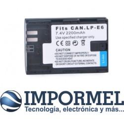 Batería Compatible Canon Lp-e6 6d 5d Mark 3 5d Mark Ii 7d 6