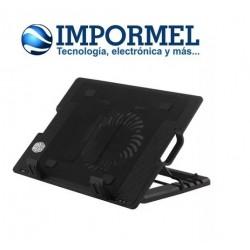 Ventilador Base Enfriadora Laptop Cooler Universal 9 A 17¨