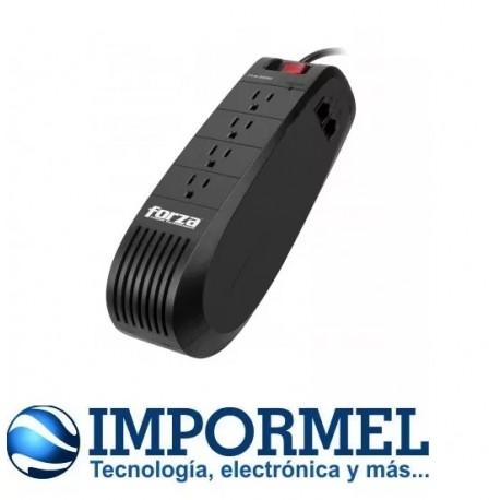 Regulador De Voltaje Forza Fvr-1001m 1000va 500w Tv Pc Radio