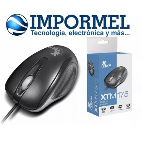 Mouse Usb Óptico Xtech Soporta Windows Mac Linux Americano