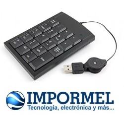 Teclado Numérico One Diseño Slim, Para Laptop Portátil Pc