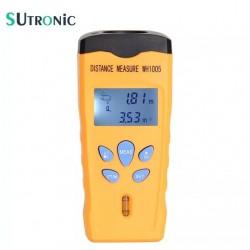 Medidor De Distancia Ultrasonico Laser Volumen Profesional