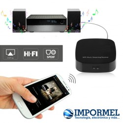 Sistema Audio Wifi Receptor Musica Streaming Audio