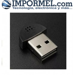 Adaptador Microfono Usb Para Pc Laptop Mini Estudio
