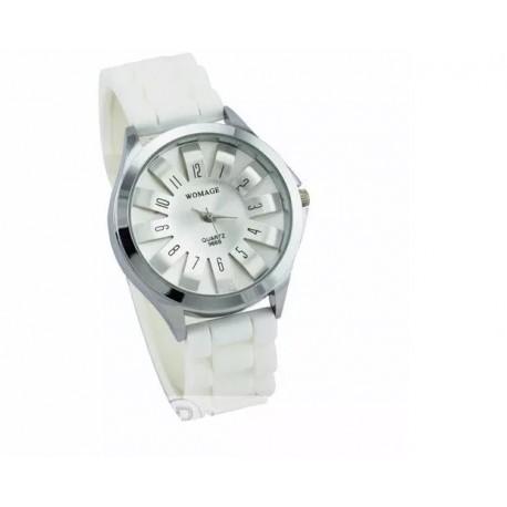 Reloj De Mujer Elegante Luna Plateada