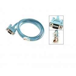 Cable Consola Equipos Cisco Rj45 A Db9 Serial