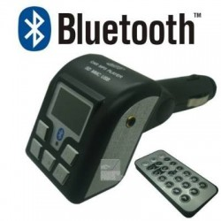 Transmisor Fm Bluetooth Manos Libres Para Autos Con Control