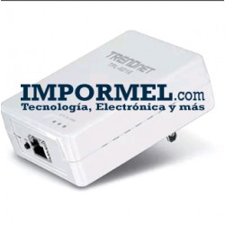 Adaptador Powerline Trendnet 500 Mbps Tpl-401e
