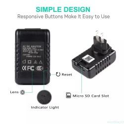 Camara Espia Wifi Cargador Full Hd 1080 Sensor De Movimiento