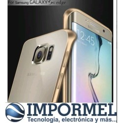 Bumper De Lujo Aluminio Samsung S6 Edge Protector Case