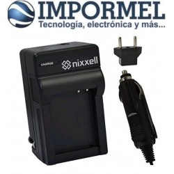 Cargador Bateria Canon Nb-11l 11lh Cb-2lf Cb-2ld Auto Y Toma