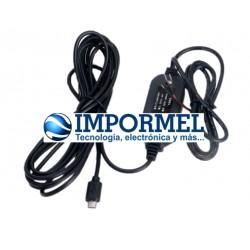 Adaptador Convertidor 12v A 5v Para Auto Gps Micro Usb