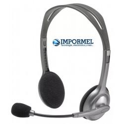 Auricular Logitech H110 Diadema Con Microfono Profesional