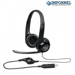 Headset Audifonos Headphones Con Microfono Logitech H390 Usb