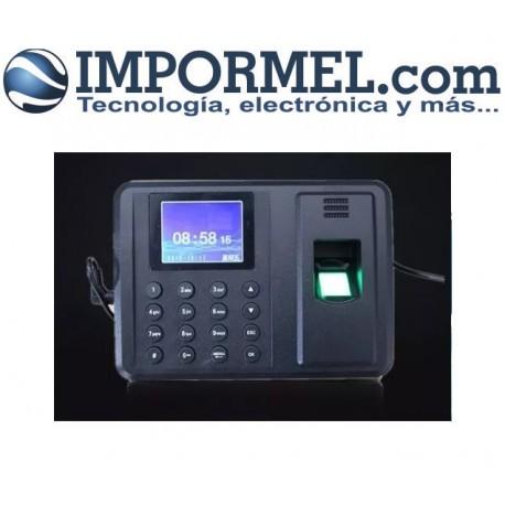 Reloj Biometrico Control Asistencia Persona Color Excel 600