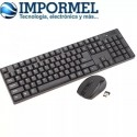 Teclado Mouse Inalambrico 2.4ghz Laptop Pc Wireless