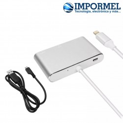 Adaptador Lightning A Hdmi Vga Digital Iphone Ipad Apple