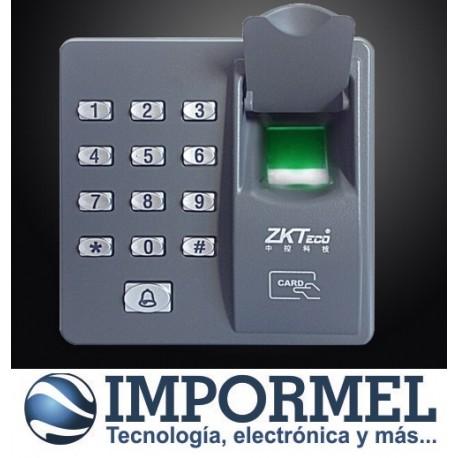 Control Acceso Biometrico Huella Teclado Tarjeta Puerta