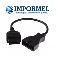 Cable Convertidor Daewoo Lada Gm 12 Pines A Obd2 16 Pines