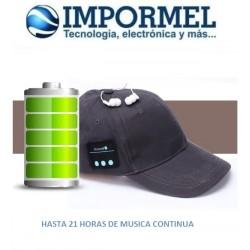 Gorra Gorro Bluetooth Telefono Musica Manos Libres Tablet
