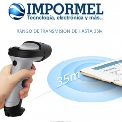 Escaner Codigo De Barras Inalambrico Bluetooth Inateck Resis