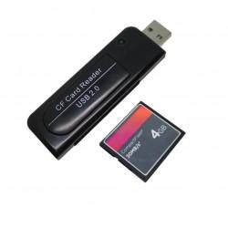 Lector Memoria Compact Flash Usb 2.0 Pc Cf Compac Laptop