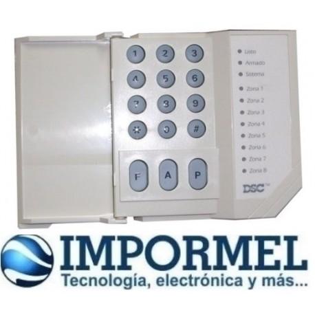 Teclado Led Dsc Para Alarma Pc585 Pc1832
