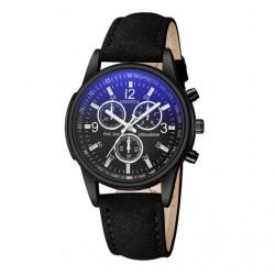 Reloj De Pulsera Acero Inoxidable Hombre Cuarzo Marca Geneva