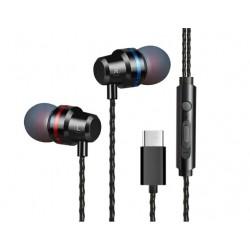 Audífonos Auriculares Usb Tipo C Para Xiaomi Huawei