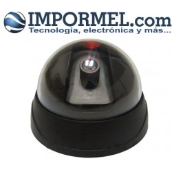 Camara De Seguridad Falsa Vigilancia Led Intermitente Ip