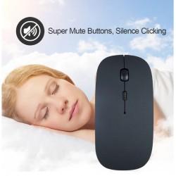 Mouse Bluetooth Inalambrico 2.4ghz 1600 Dpi Ergonomico