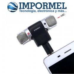 Adaptador De Micrófono Externo Smartphone Celular Fidelidad