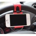 Soporte Celular Volante Auto Iphone Samsung Lg Sony Nokia