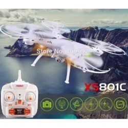 Drone Dron Original Xs801c 2mp Hd Camera 2.4g 4ch 100m