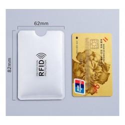 Protector Rfid seguridad tarjeta credito anti robo bloqueo