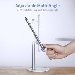 Soporte Pedestal Tablet iPad Universal Aluminio Resistente