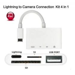 Adaptador Convertidor Camara Otg iPhone iPad Lightning Sd