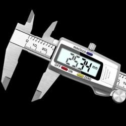 Calibrador Digital Pie De Rey Vernier Metalico Con Estuche