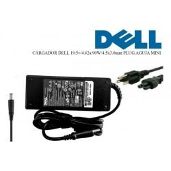 Cargador Adaptador Dell 19.5v 4.62a Plug Fino 90w Inspiron