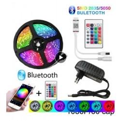Cinta Rollo Tira Led Inteligente Rgb Color 5m 5050 Smd