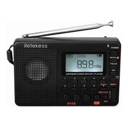 Radio Fm Multi Banda Reproductor De Mp3 Grabadora Temporiza