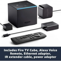 Amazon Fire Tv Cube Alexa 4k Ultra Hd Streaming Manos Libres