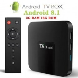 Smartv Tv Box 2gb Ram 16gb Youtube 4k Netflix Tx3 Mini