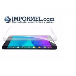 Mica Curva Vidrio Templado Samsung Note Edge Transp